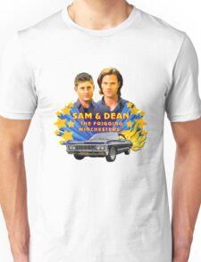 Sam & Dean Vintage Transfer Unisex T-Shirt