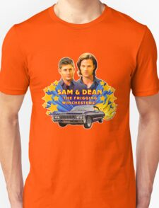 Sam & Dean Vintage Transfer T-Shirt