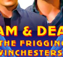Sam & Dean Vintage Transfer Sticker