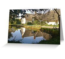 Cottages At Wennington  Greeting Card