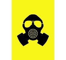 Hayfever Survival Mask Photographic Print