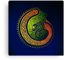 Celtic Twist Canvas Print