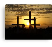 Righteous Sunset Canvas Print