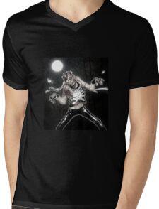 Midnight Shuffle Mens V-Neck T-Shirt