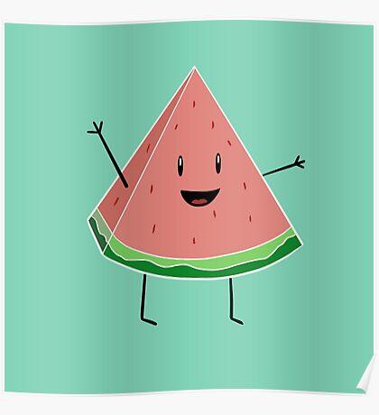 Walter Melon - Cute Salad Poster