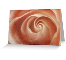 Pink Swirl - JUSTART © Greeting Card