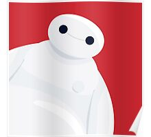 Baymax from Big Hero 6 Poster