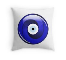 Impossible evil eye Throw Pillow
