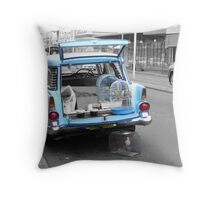 The Bird Shop -Marrickville Throw Pillow