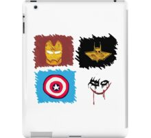 Marvel vs. DC, bro! iPad Case/Skin