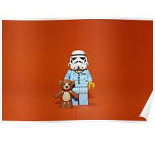 Sleepy Stormtrooper Poster