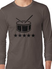 Drum stars Long Sleeve T-Shirt