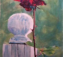 Post and the Rose by Jim Phillips