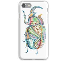 Abstrac scarab iPhone Case/Skin