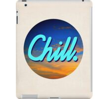 Chill Circle 1 iPad Case/Skin