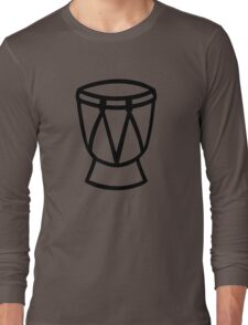 Drum Long Sleeve T-Shirt