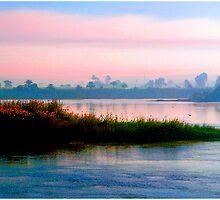 The River Nile, Near Dusk by Mark Ross