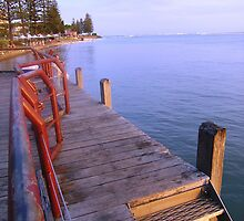 Jetty Joy - Caloundra, Queensland, Aust. by Deanna Roberts Think in Pictures
