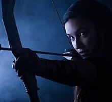 Archery woman by JH-Image