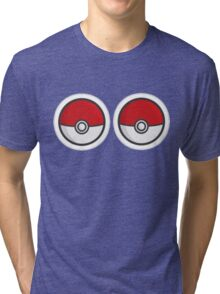 Pokebosoms Tri-blend T-Shirt