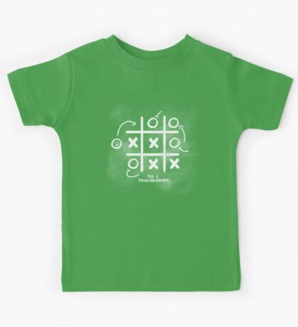 Touchdown! (How Football works, as I Understand It) Kids Tee