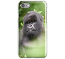 Silverback Stare iPhone Case/Skin
