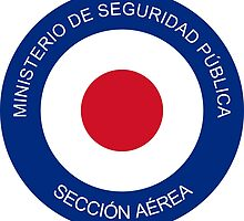Roundel of Costa Rica Air Surveillance Service  by abbeyz71