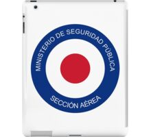 Roundel of Costa Rica Air Surveillance Service  iPad Case/Skin