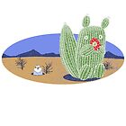 Squirrel Cactus  by SusanSanford