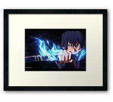 Blue ! Framed Print