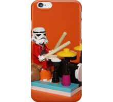 Stormtrooper plays drum iPhone Case/Skin