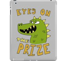Eyes on the prize dinosaur iPad Case/Skin
