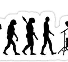 Evolution drummer Sticker