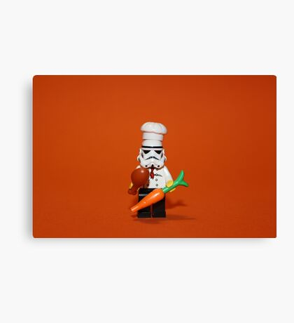Stormtrooper Cook'ing Canvas Print