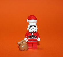 Santa Stormtrooper by Kirk Arts