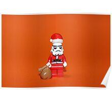 Santa Stormtrooper Poster