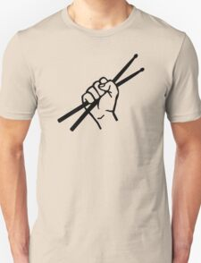 Drummer drumsticks Unisex T-Shirt