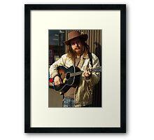 Pittsburgh Street Artist (1 of 3) Framed Print