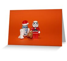 Stormtrooper Santa Greeting Card