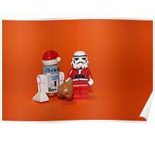 Stormtrooper Santa Poster
