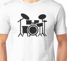 Drums set Unisex T-Shirt