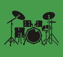 Drums percussion One Piece - Short Sleeve