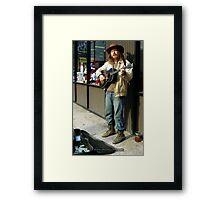 Pittsburgh Street Artist (3 of 3) Framed Print