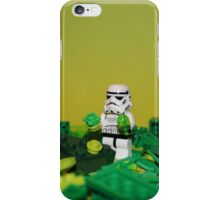 Green Stormtrooper iPhone Case/Skin