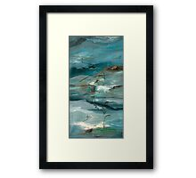 Island in the gorge Framed Print