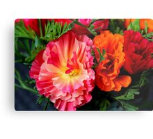 Colours & Flowers Speak all Languages Metal Print