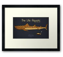 The Life Aquatic - Jaguar Shark Framed Print