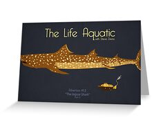 The Life Aquatic - Jaguar Shark Greeting Card