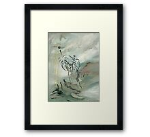 The Trickster Framed Print