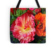 Colours & Flowers Speak all Languages Tote Bag